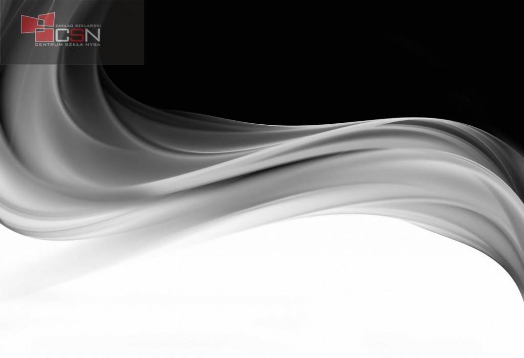 Elegant silver fractal wave