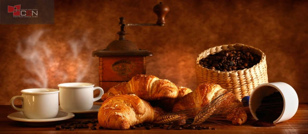 Caffè e Croissant caldi