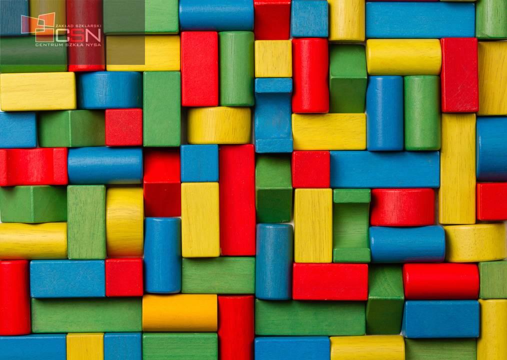 Toys blocks, multicolor wooden colorful bricks